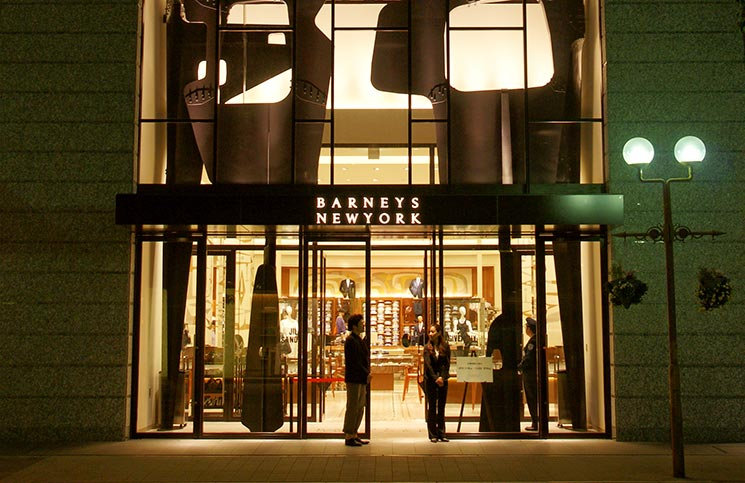 Barneys clothing store. Clothing stores online